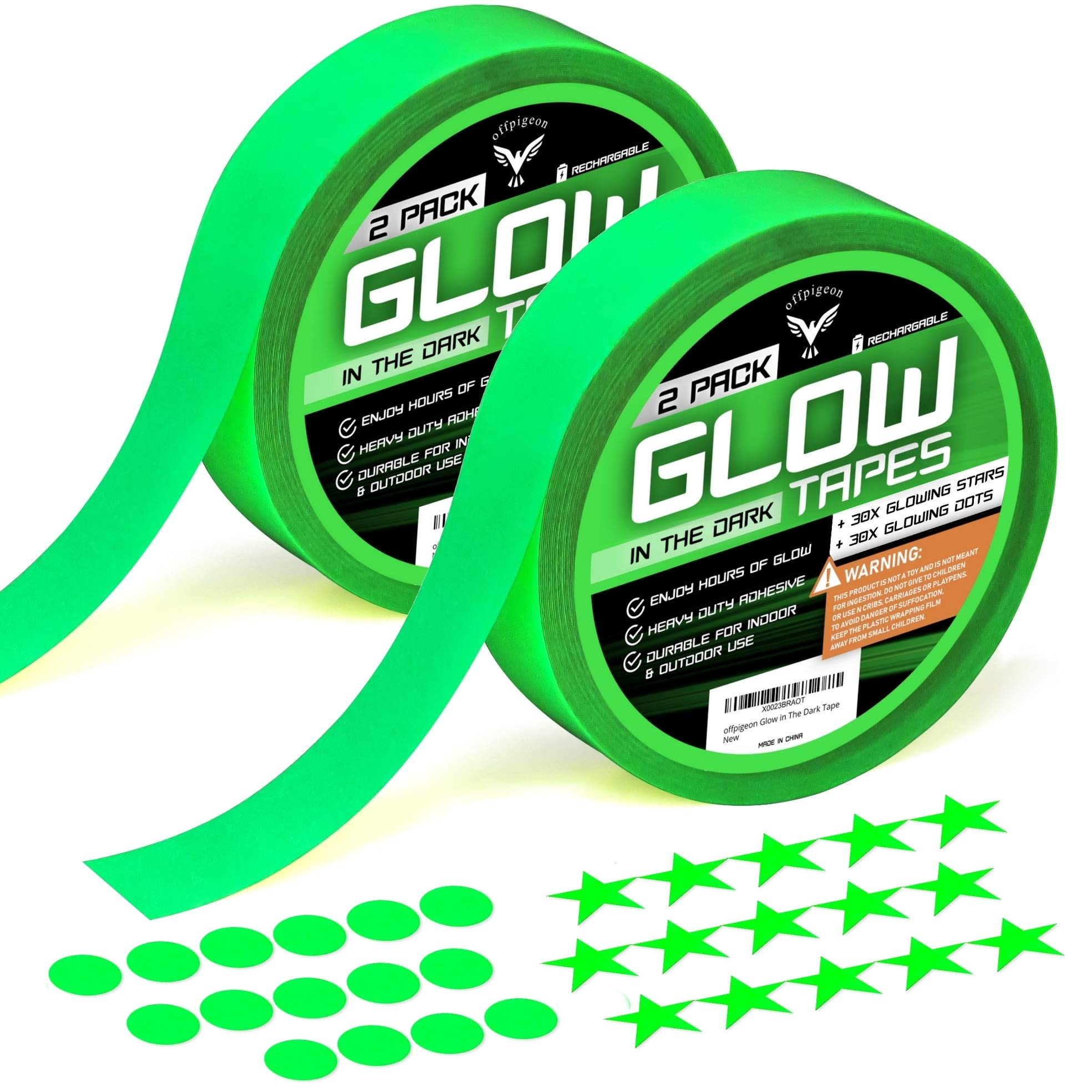 Glow Dark Tape Fluorescent Decorations