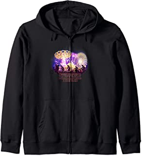 Stranger Things Carnival Silhouettes Logo Sweat à Capuche