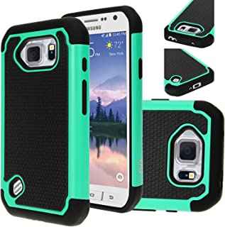 E LV Case for Samsung Galaxy S6 Active case, Protection from Drops and impacts for Samsung Galaxy S6 Active - Teal