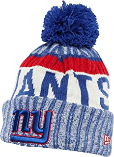 New Era Men's Men's Giants 2017 Sideline Official Sport Knit Hat