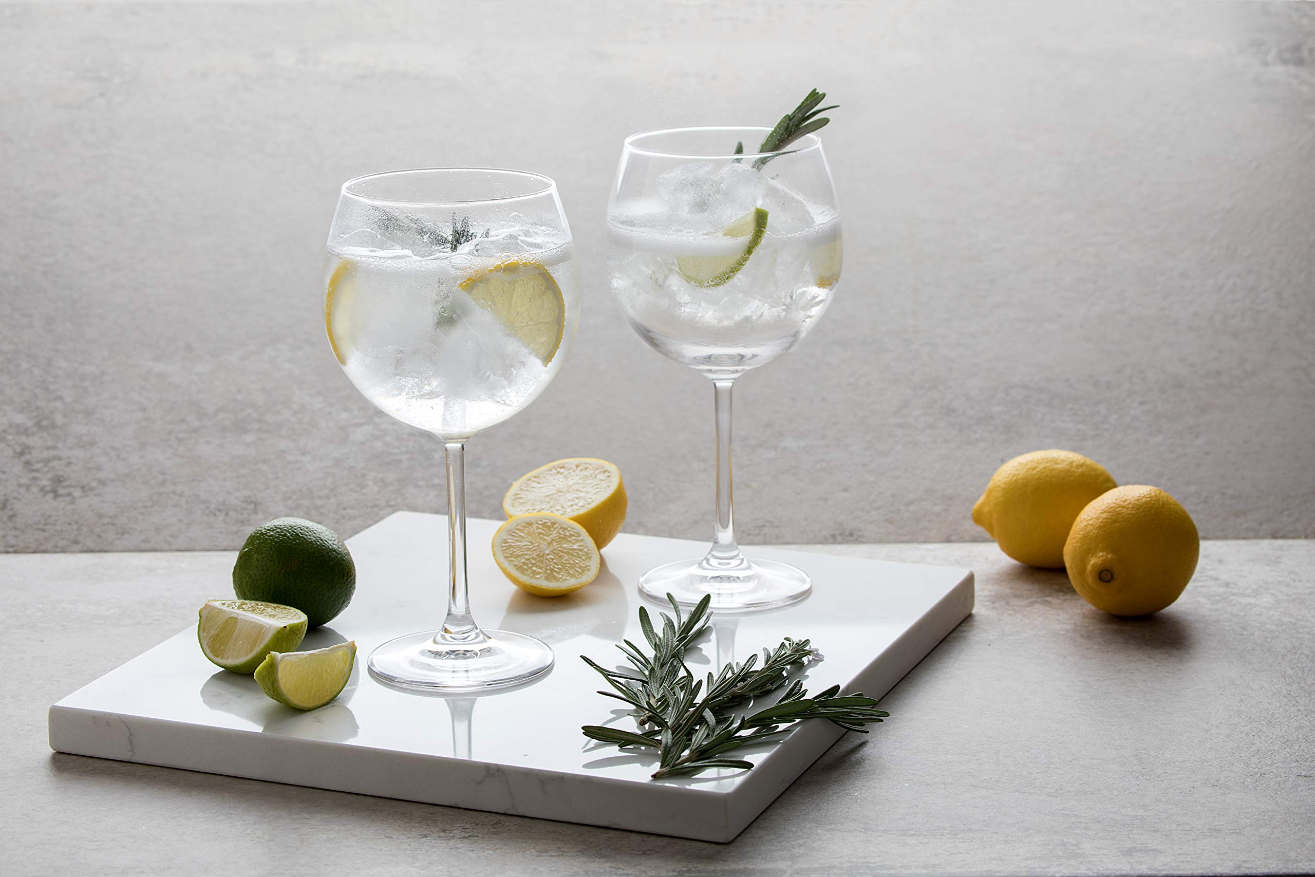 Dartington Crystal de Vino y Bar/Copa Gin y Tonic, Claro, Pack de ...