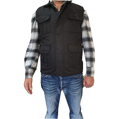 Medium Ibex Mens Body Warmer//Gilets Light Weight Padded Winter Sleeveless Jackets Coat Royal
