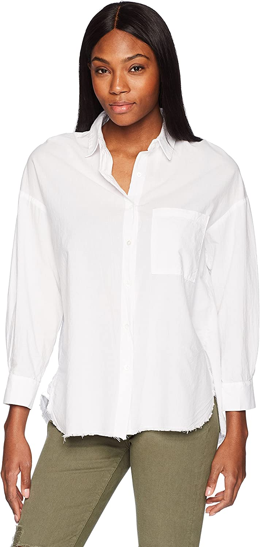 Stateside Womens Oxford Oversize Shirt Shirt