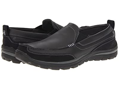 SKECHERS Relaxed Fit Superior Gains (Black) Men