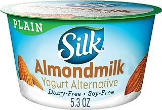 Silk Almondmilk Yogurt Alternative, Plain, Vegan, 5.3 oz