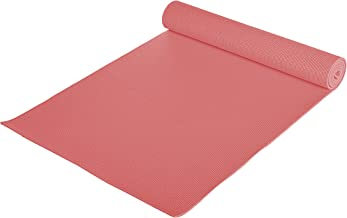 Skyland Unisex Adult Yoga Mat ,Red, 68 inches x 24 inches, Em-9306-r