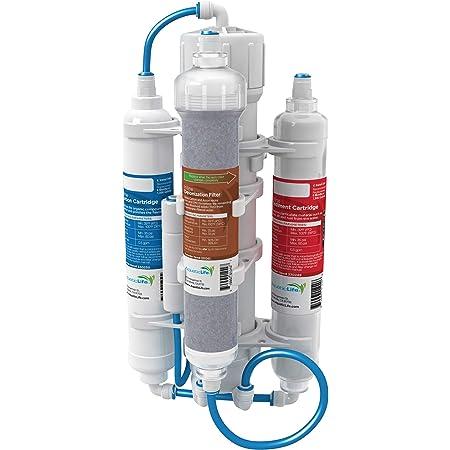 AQUATICLIFE Aquatic Life RO Buddie Plus DI Four Stage Reverse Osmosis Deionization Unit 50 GPD