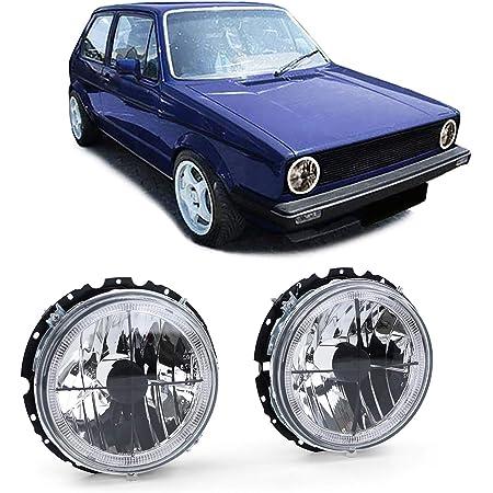 Jom Car Parts Car Hifi Gmbh 191941753cssk Scheinwerfer Mit Fadenkreuz Schwarz Auto