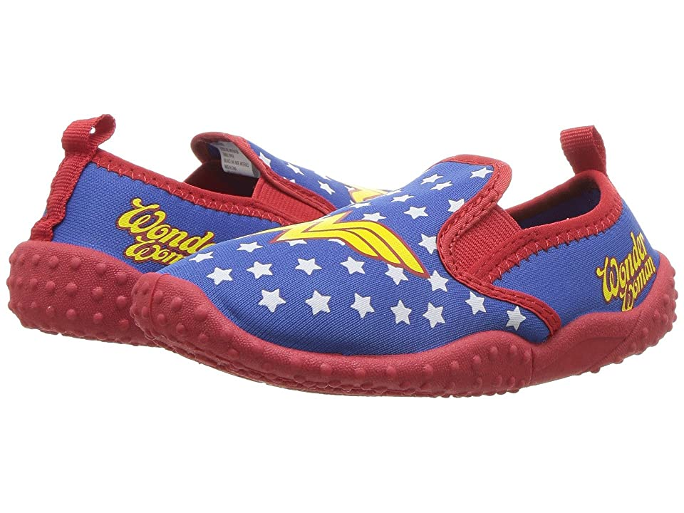 Favorite Characters Wonder Womantm Slip-On (Toddler/Little Kid) (Blue) Girls Shoes