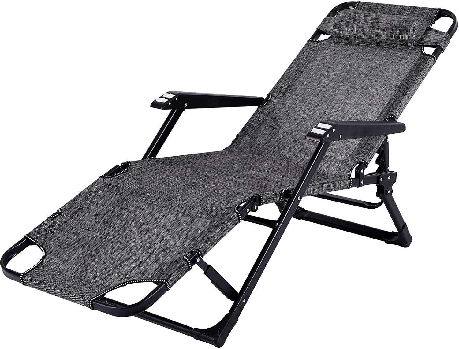 Limited time cheap sale LAJOSON Raleigh Mall Lounge Chairs Folding Bed Adjustable Recliner Patio Chai