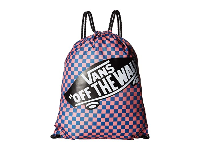 926a2e391dd Vans Benched Bag (Blue Sapphire/Strawberry Pink Checkerboard) Bags