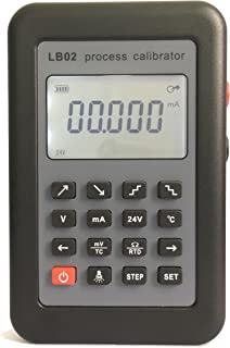 T-king(TM) LB02 Resistance Current Voltmeter signal generator source Process calibrator 4-20mA/0-10V/mV LCD display Update from LB01