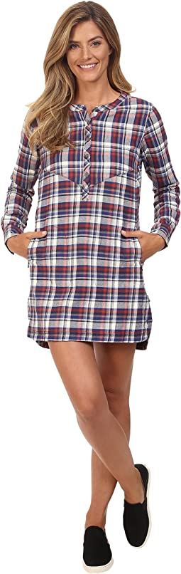 Vagabond Flannel Tunic Dress