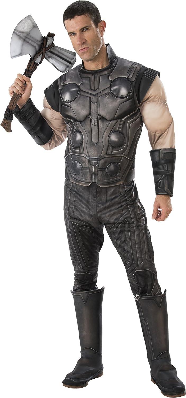 A la venta con descuento del 70%. Marvel - Disfraz Disfraz Disfraz de Thor para hombre (Infinity Wars), Talla M adulto (Rubie's 821169-STD)  Envío 100% gratuito