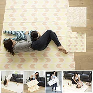 XDEMODA Reversible Baby Play Mat & Exercise Mat - Fun & Stylish Foam Floor Playmat for Adults, Kids and Infants. Elegant R...