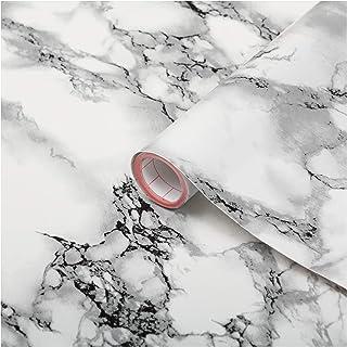 "d-c-fix self-Adhesive Film White Marble Stone 26.5'' x 78.7"""