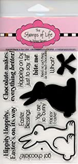 Easter Stamps for Card-Making and Scrapbooking Supplies by The Stamps of Life - Easter Bunny - ChocolateBunny2Stamp