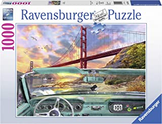Ravensburger Golden Gate 1000 Piece Jigsaw Puzzle for Adults – Every Piece is Unique, Softclick Technology Means Pieces Fit Together Perfectly