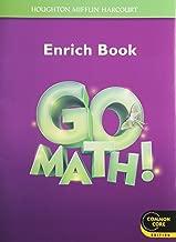 Go Math!: Student Enrichment Workbook Grade 3