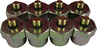 AccurateDiesel Duramax LB7 LLY Diesel Injector Block-Off Tool / Cap (Set of 8)