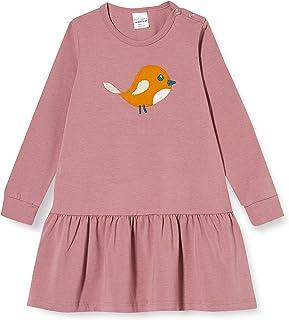 Fred'S World By Green Cotton Bird Frill Dress Robe Bébé Fille
