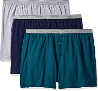 Solid Knit Boxers 3-Pack (Colors and patterns may vary)