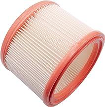vhbw Element filtrujący zamiennik do Berner 94314 do odkurzaczy na mokro i sucho - filtr drobnego pyłu, papier/guma