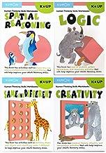 Kumon Thinking Skills Workbooks SET II - K & UP Level (4 Books)