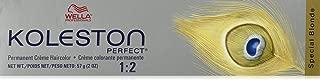 Wella Koleston Perfect Permanent Creme Haircolor 1: 2 12/16 Special Blonde/ash Violet, 0.3 Oz