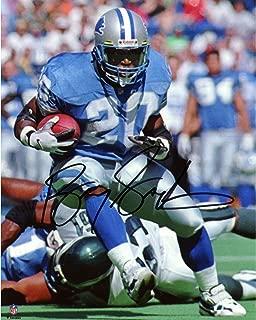 Barry Sanders Detroit Lions Autographed 8