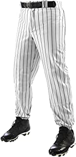 CHAMPRO Traditional Fit Triple Crown Classic Baseball Pants with Knit-in Pinstripes and Reinforced Sliding Areas