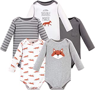 Best Hudson Baby Unisex Baby Cotton Long-sleeve Bodysuits Reviews