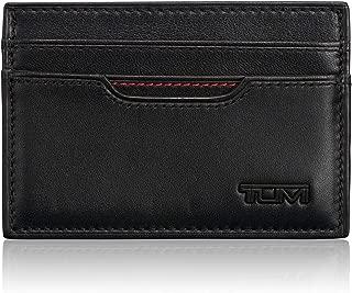 Delta Slim Card Case Wallet with RFID ID Lock for Men - Black