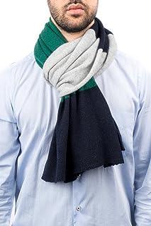 DALLE PIANE CASHMERE - Sciarpa a 3 colori 100% cashmere - Uomo