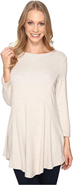B Collection by Bobeau Brushed Babydoll Hemline Knit