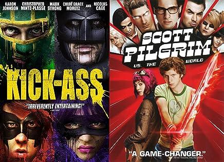 Tough Teens DVD Combo Set- Scott Pilgrim (vs. the World) & Kick-Ass (Double Feature)