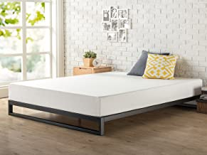 Zinus Trisha 7 Inch Heavy Duty Low Profile Platforma Bed Frame / Mattress Foundation / Box Spring Optional / Wood Slat Sup...
