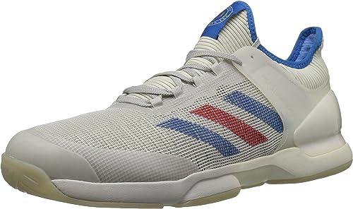 Adidas Men's Adizero Ubersonic 50YRS LTD Tennis zapatos, Legacy Signal azul gris one, 7 M US
