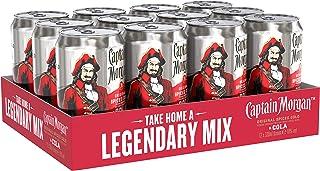 Captain Morgan Original Spiced Gold mit Cola Mix-Getränk, EINWEG 12 x 0.33 l