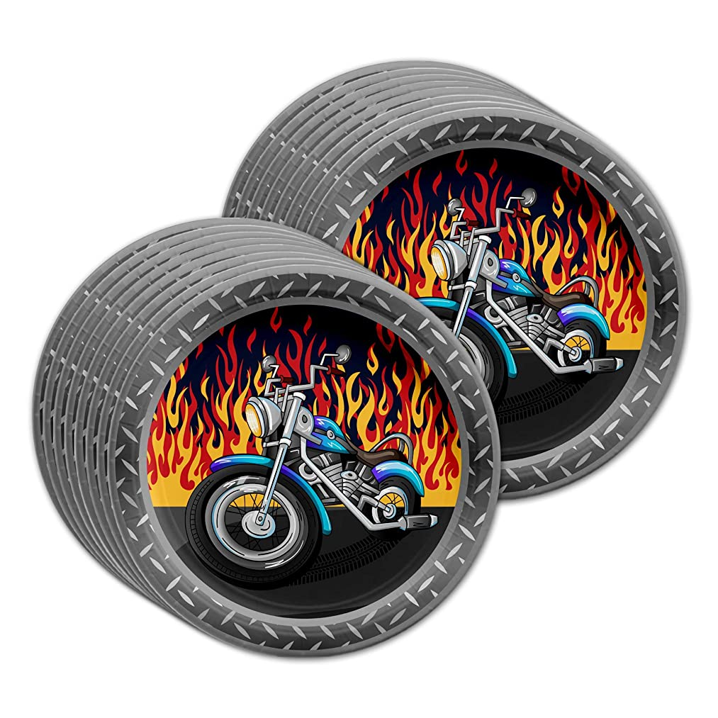 Motorcycle Birthday Party Supplies Large 9