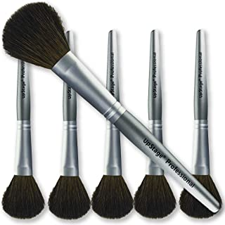 Contour Brush Bulk 6 Pack - Natural Hair For Cosmetic Contouring, Sculpting, Shading, Blush, Highlight Powder, Foundation on Eyes, Face, Cheeks For Makeup Artists