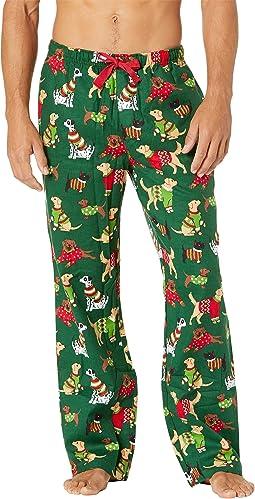 Woofing Christmas Flannel Pajama Pants