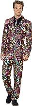 Smiffys 41585M - Herren Neon Anzug, Größe: M, mehrfarbig