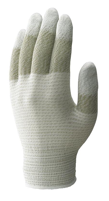保育園ホット生むショーワグローブ 【帯電防止】簡易包装制電ライントップ手袋10双入 Sサイズ 1袋