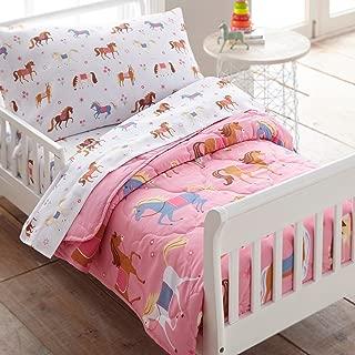 Wildkin 4 Pc Bedding, Toddler, Horses