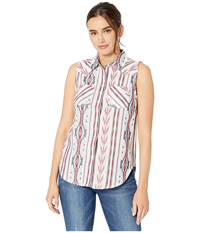Ariat Aztec Stripe Sleeveless Shirt