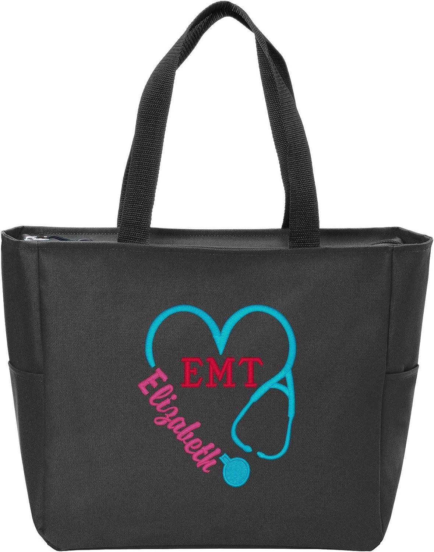 Max 44% OFF Personalized Monogram Tote Bag low-pricing Nurse Appreciation S Heart Doctor