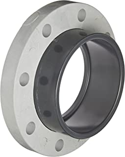 Spears 854-060 Glass-Filled PVC Pipe Fitting, Van Stone Flange, Class 150, Schedule 80, 6