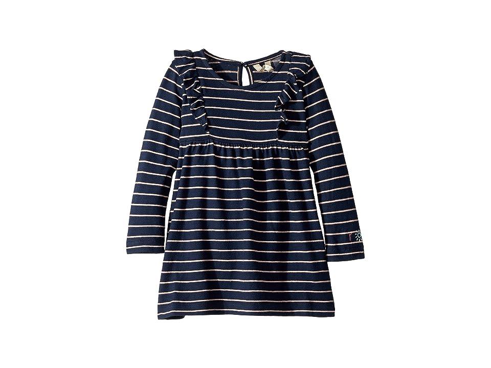 Roxy Kids Great Ocean Road Dress (Toddler/Little Kids/Big Kids) (Tropical Peach Romantic Stripe) Girl