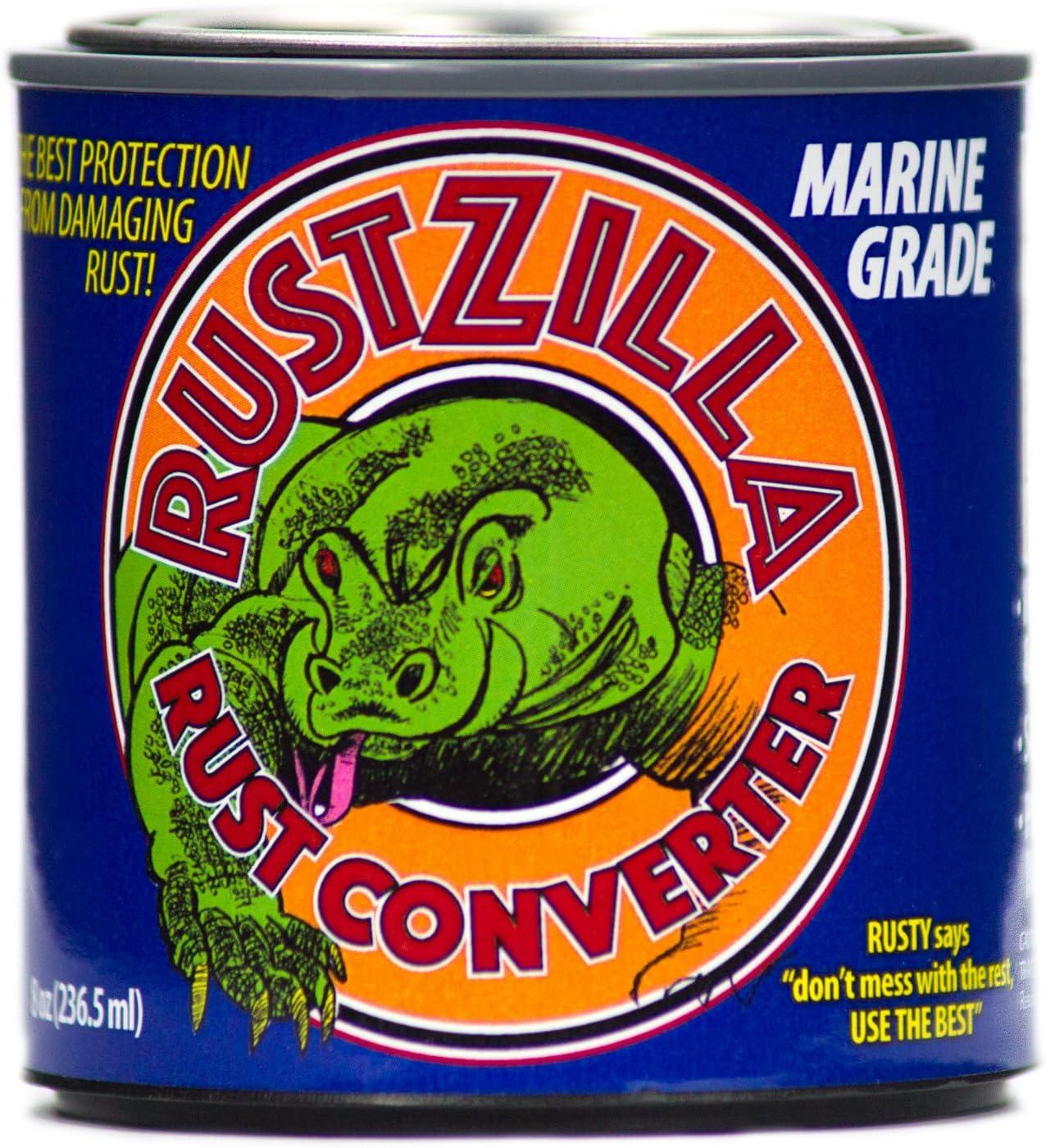 RUSTZILLA 856557004059 Marine Grade Remover Converter and Regular Fort Worth Mall dealer Rust